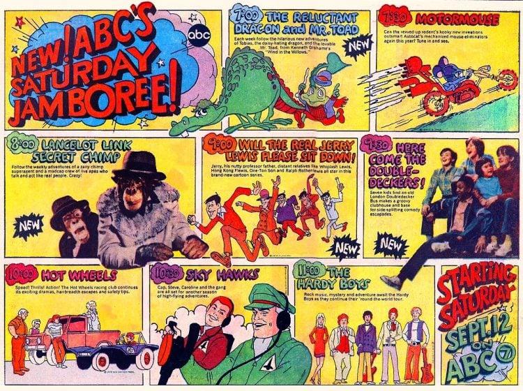 ABC TV Saturday Jamboree - Cartoons for kids from 1981