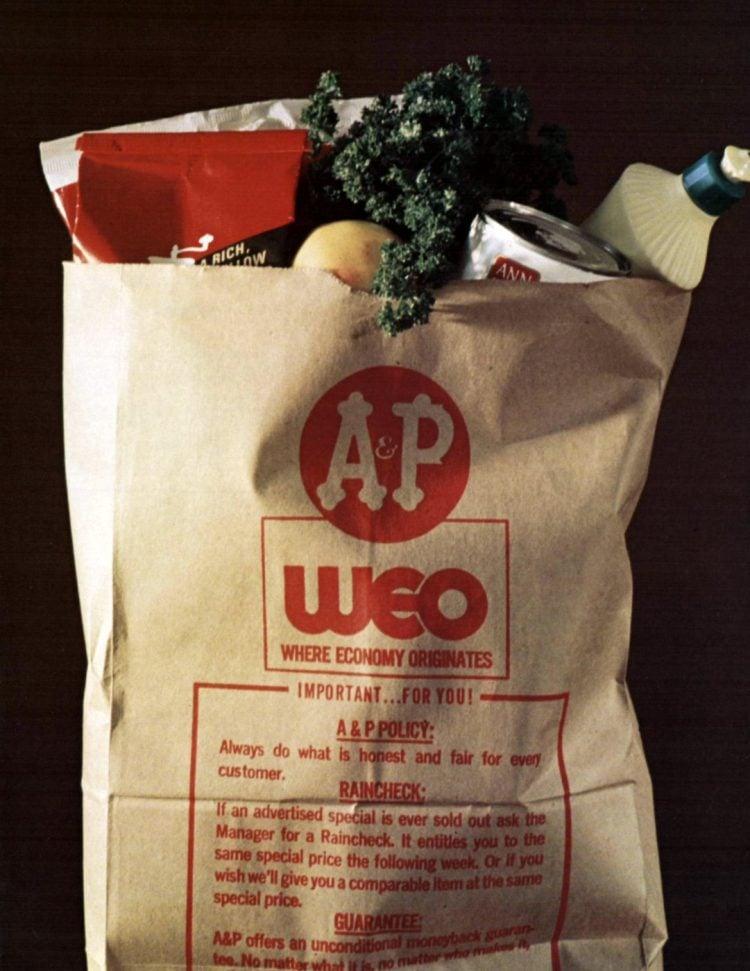 AP vintage grocery store - 1972 - 10