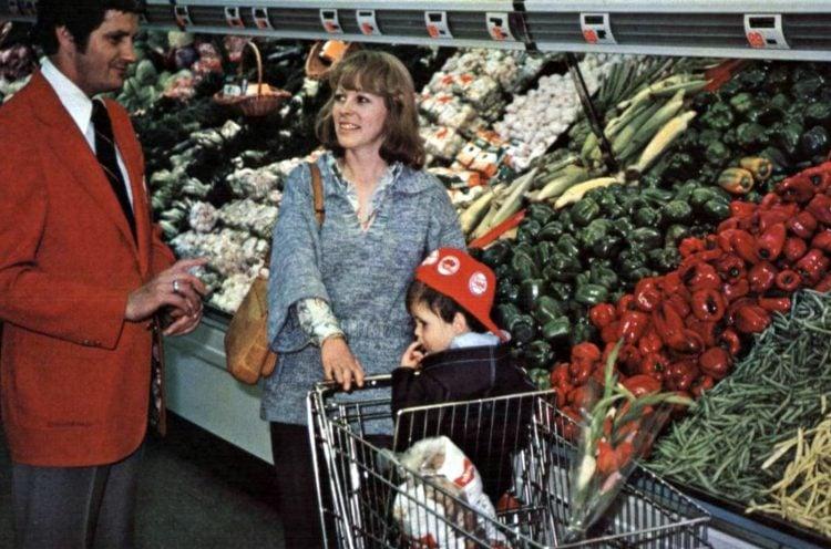AP vintage grocery store - 1975 - 5