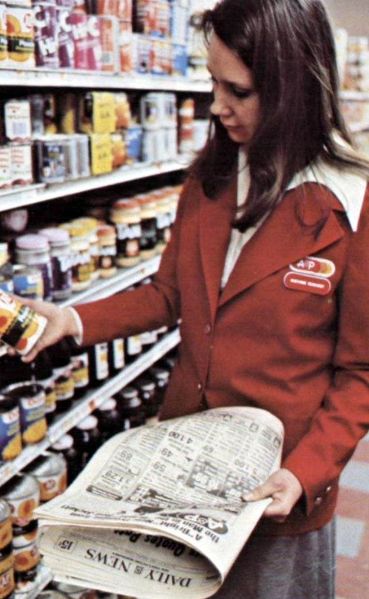 AP vintage grocery store - 1975 - 6