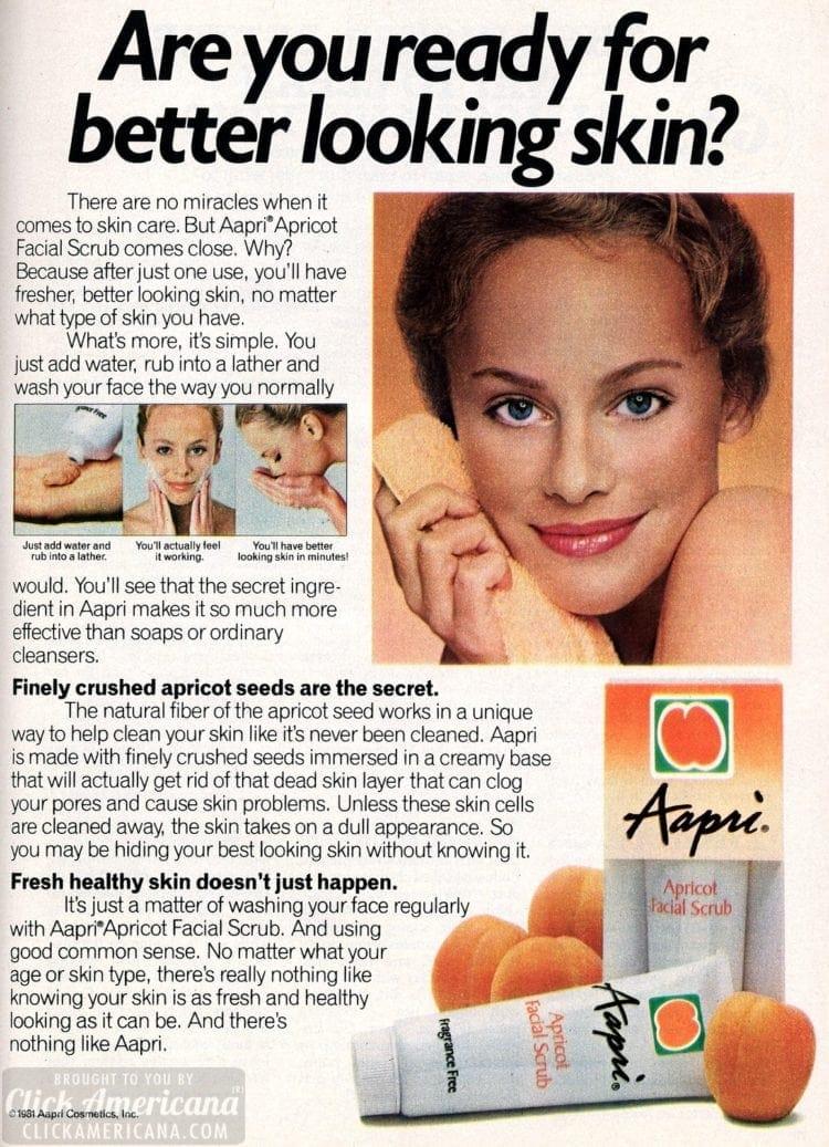 Aapri apricot facial scrub 1982