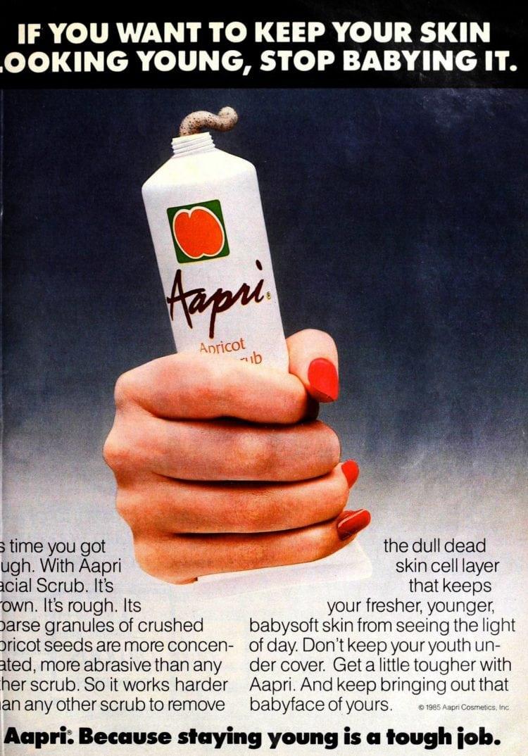 Aapri apricot facial scrub 1985