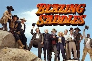 About the 1970s western comedy movie Blazing Saddles