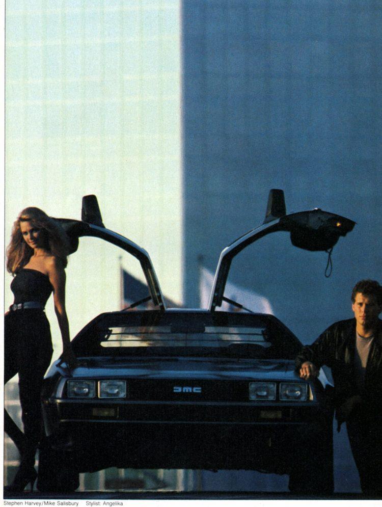 About the DeLorean, the '80s dream car