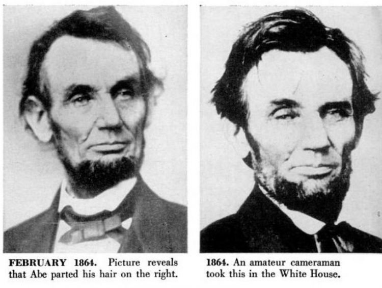 Abraham Lincoln antique portraits from 1864