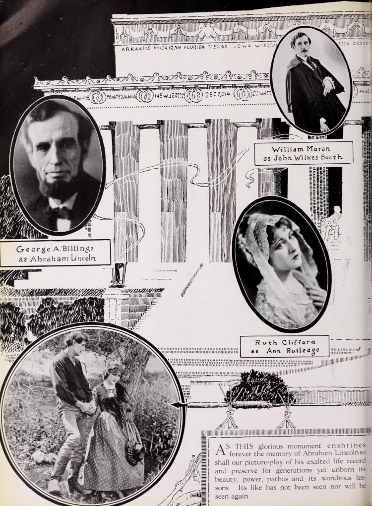 Abraham Lincoln movie from Moving Picture World Sept 1924 (3)
