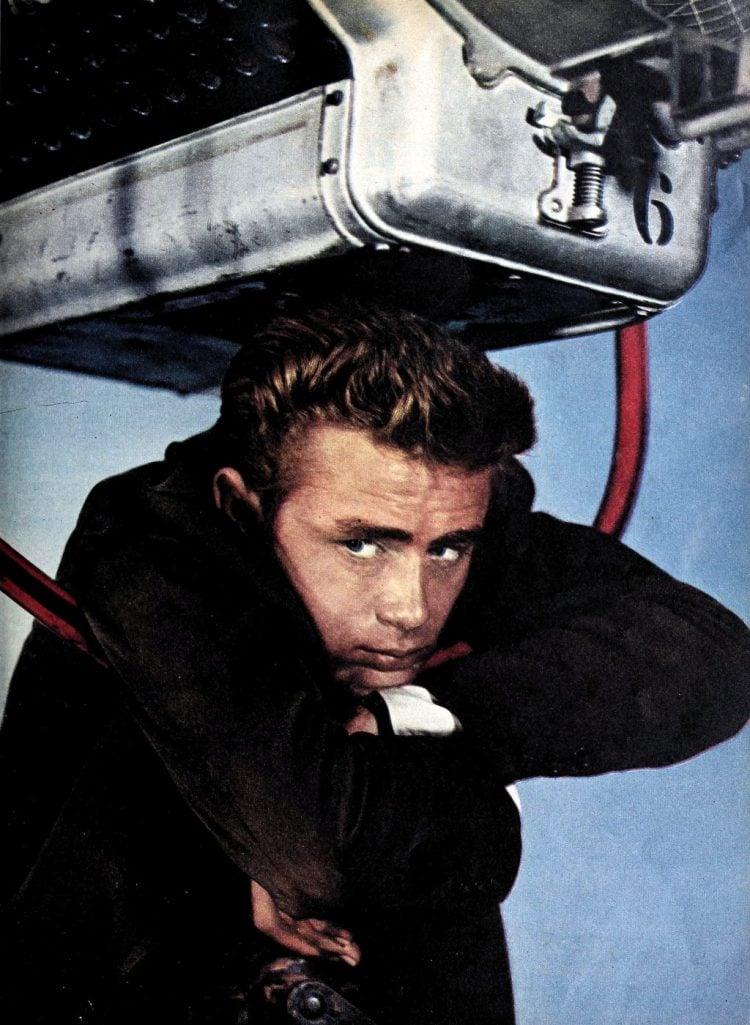 Actor James Dean