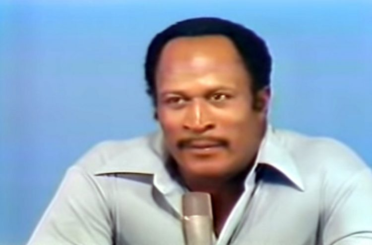 Actor John Amos on Hollywood Squares 1978