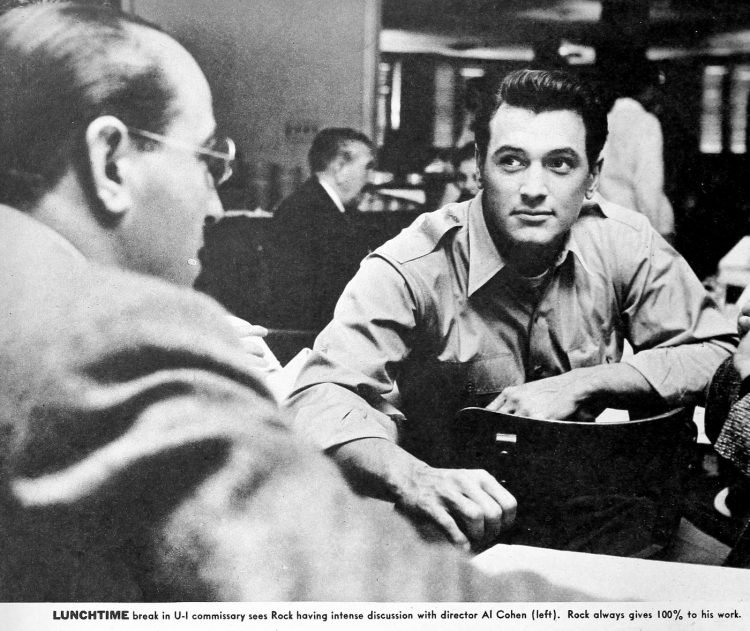Actor Rock Hudson in the mid 1950s (3)