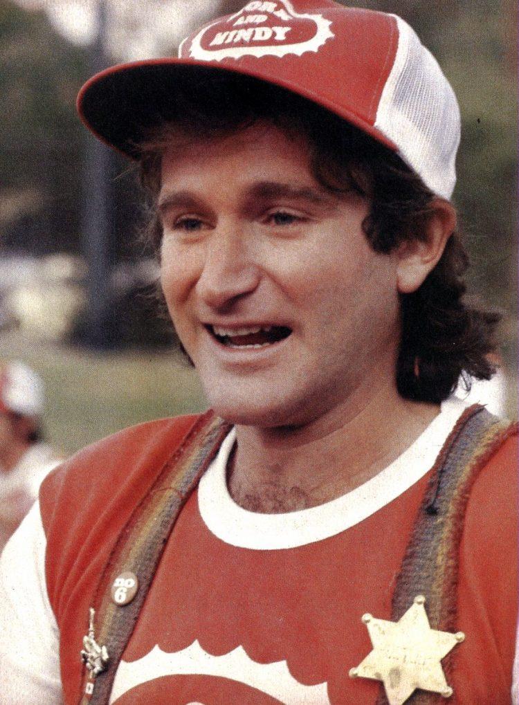 Actor-comedian Robin Williams (2)