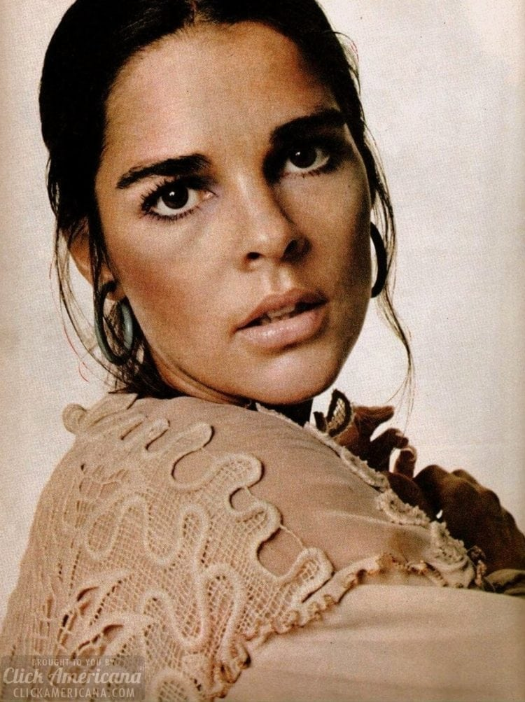 Actress Ali MacGraw