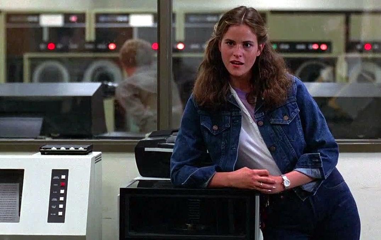 Actress Ally Sheedy in War Games (1983)