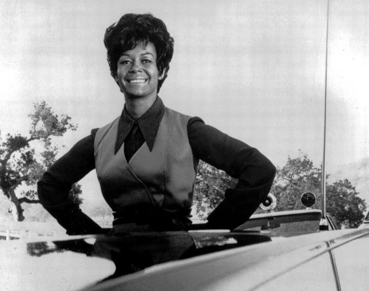 Actress Gail Fisher from the Mannix TV show