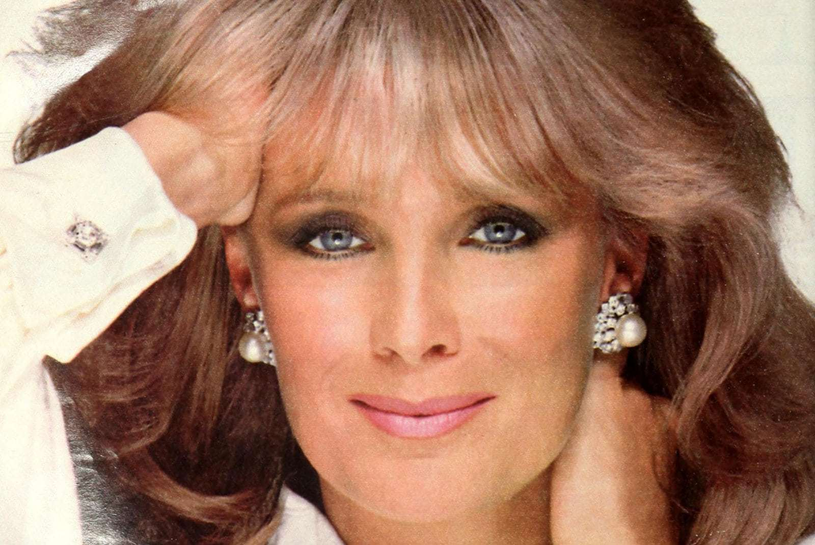 Actress Linda Evans showed off Ultress hair color in the '80s
