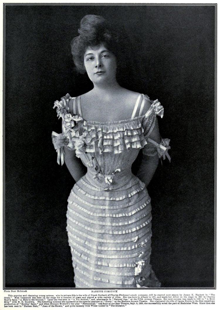 Actress Nanette Comstock c1905