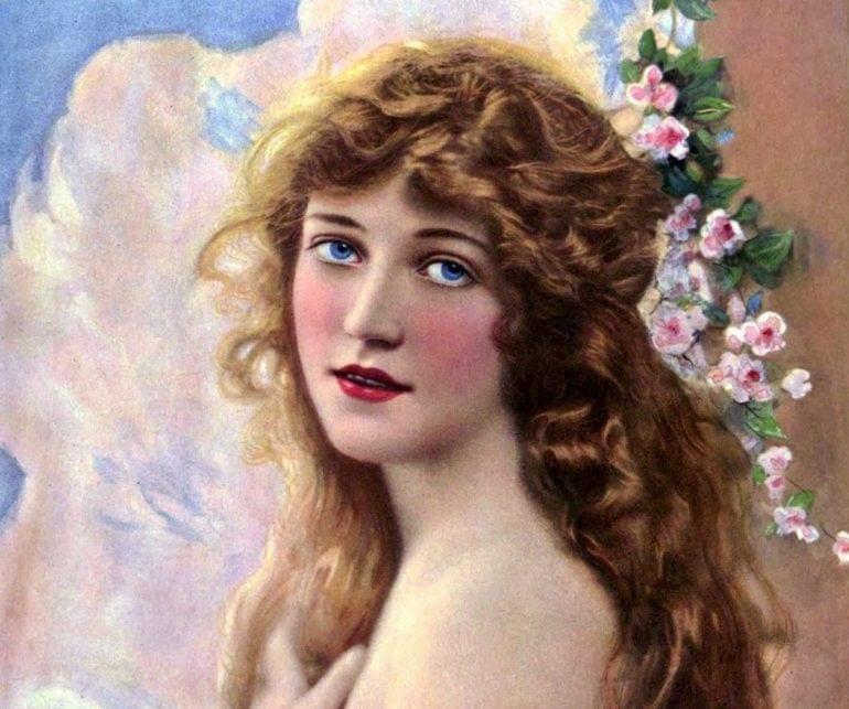Actress on Theater magazine - 1918 (2)