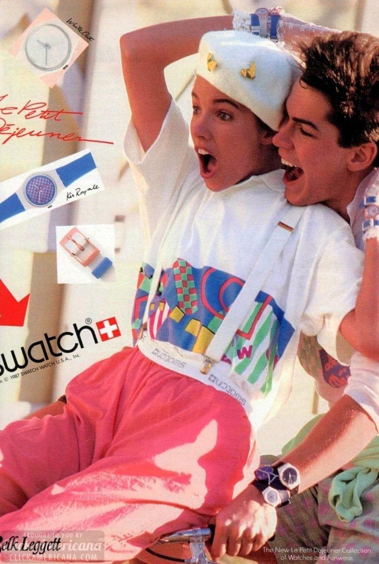Ad 1984 Swatch