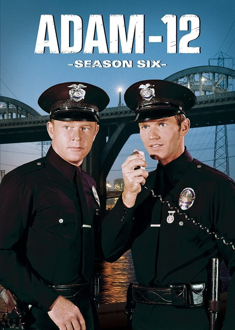 Adam-12 TV show DVD cover