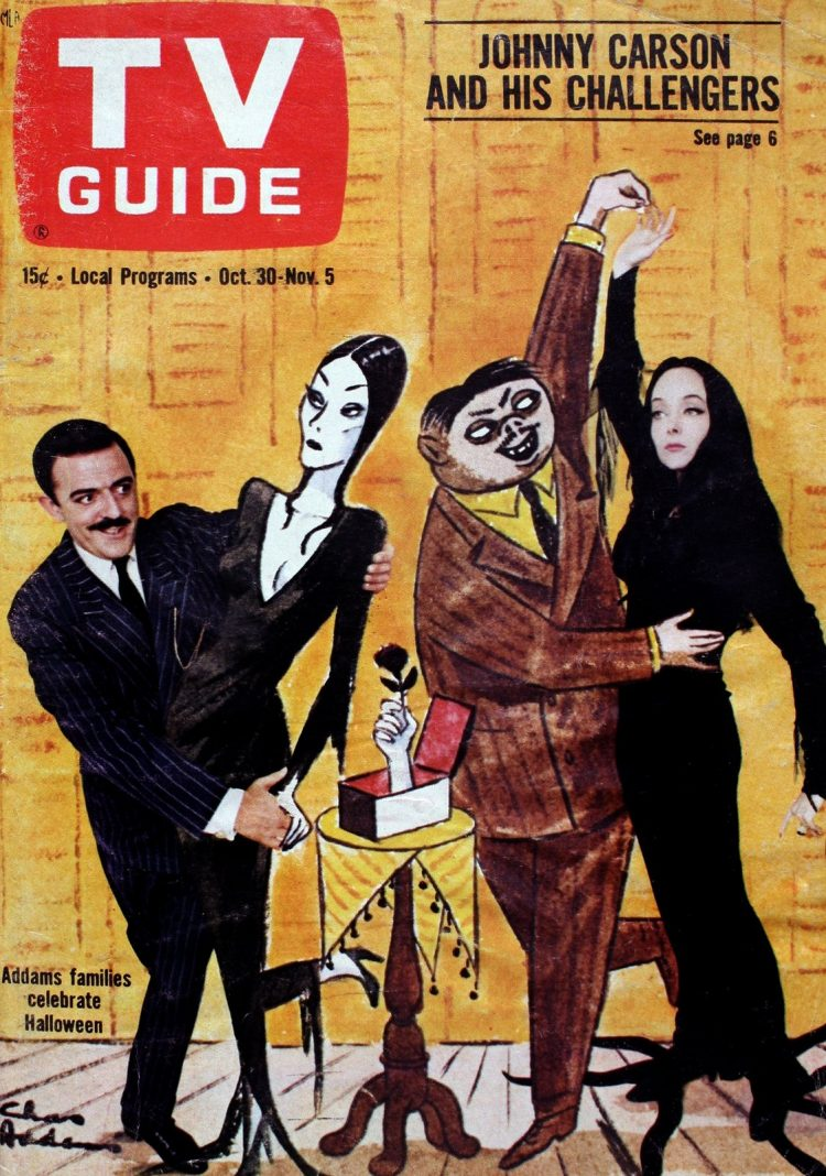 Addams Family on TV Guide