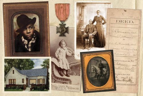African American genealogy record and heritage