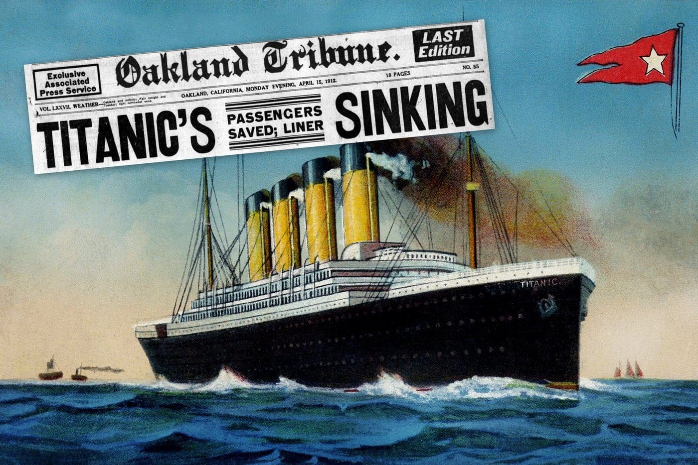 The Morning After Titanic Sank Executives Still Insisted The Ship