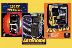 After arcade video games like Pac Man & Space Invaders hit the scene in the '80