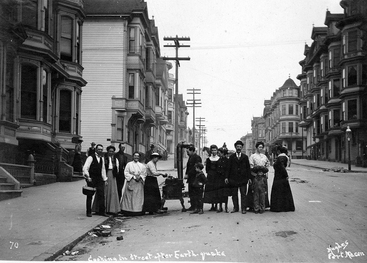 Aftermath of the 1906 San Francisco earthquake and fire (3)