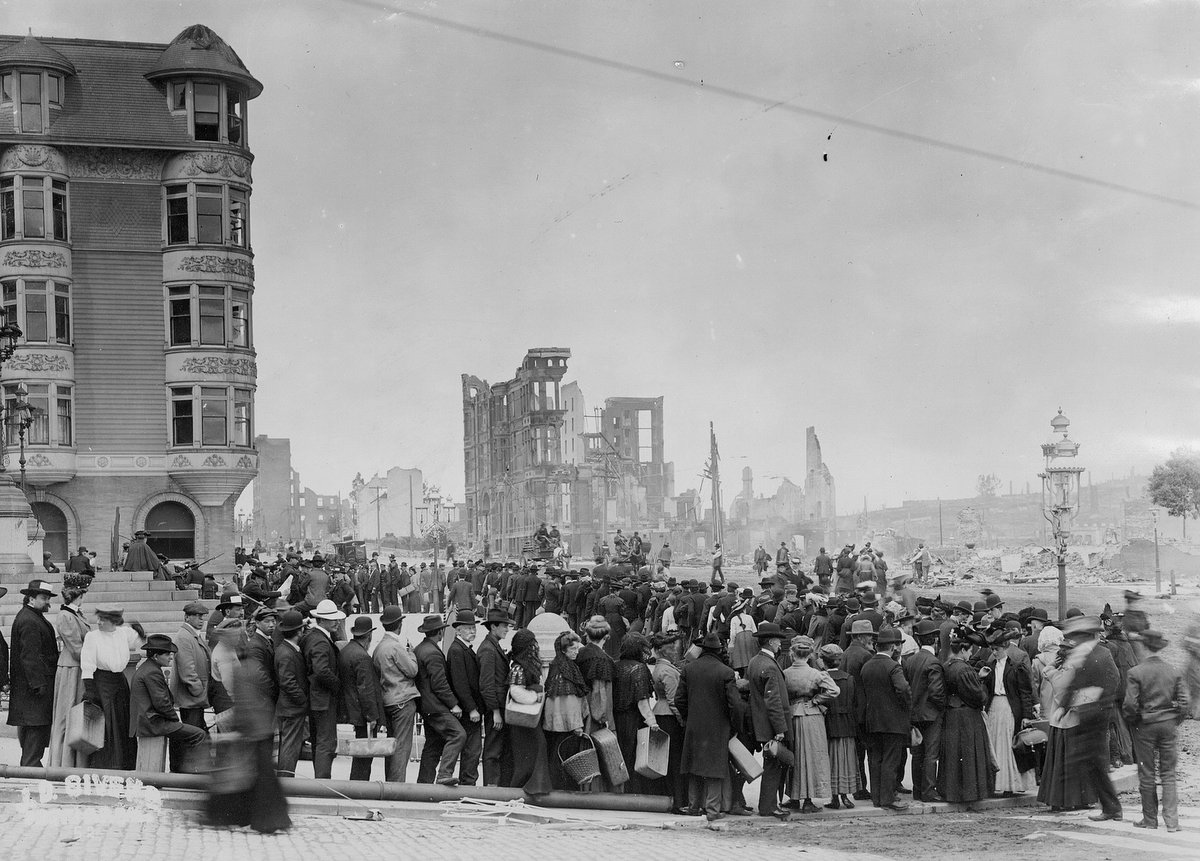 Aftermath of the 1906 San Francisco earthquake and fire (4)