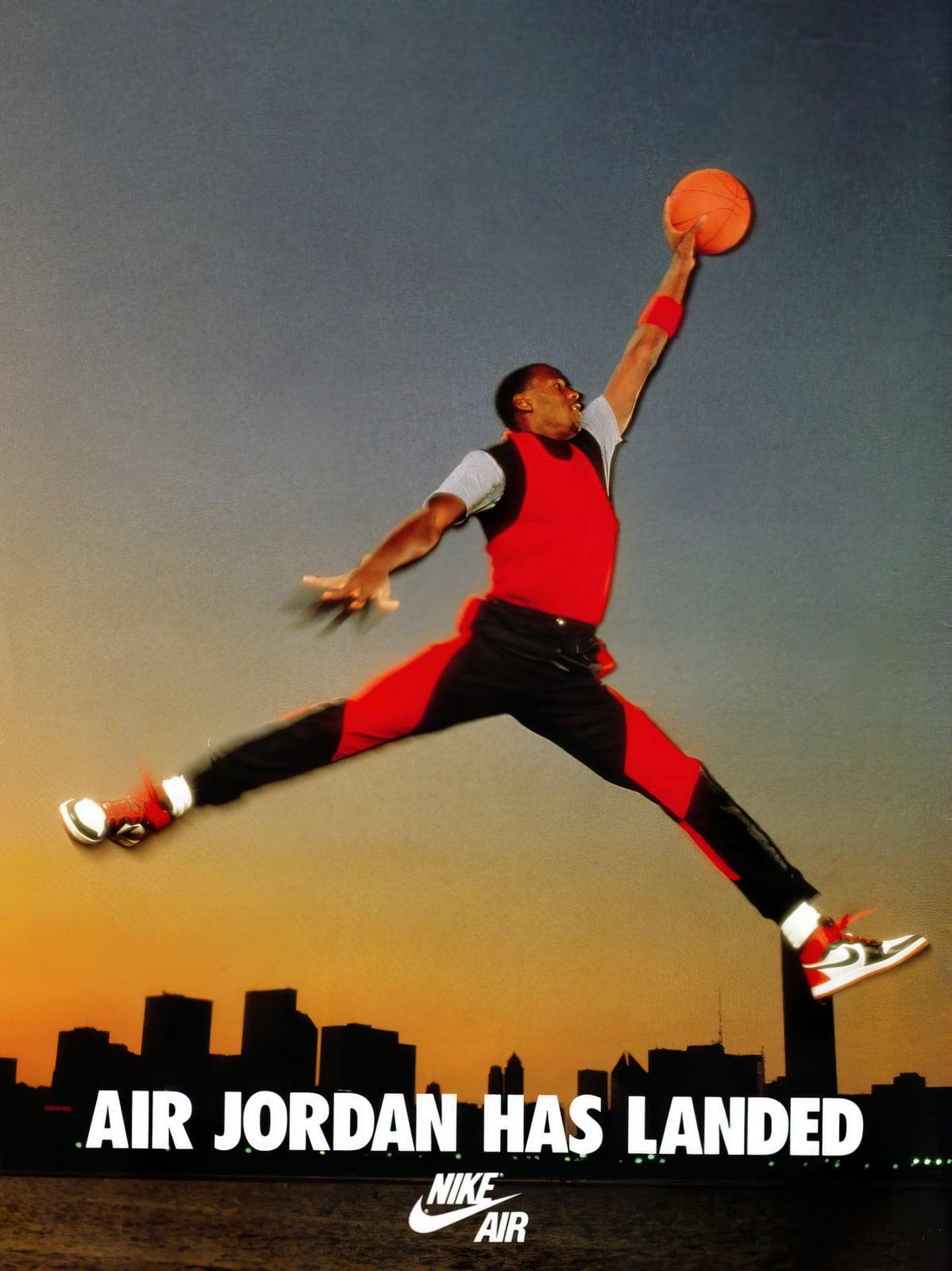 Air Jordan shoes - Nike shoes (1985)