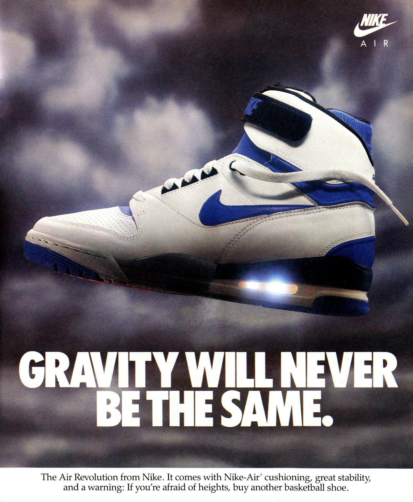 Air Revolution from Nike - Nike Air shoe (1988)