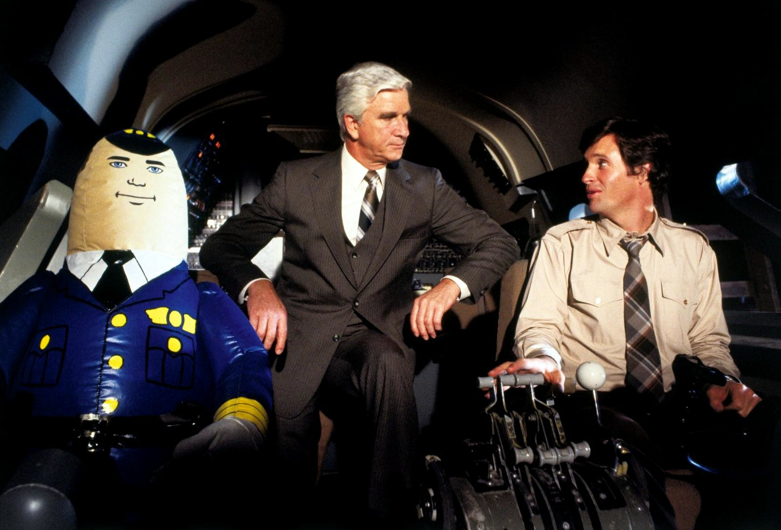 airplane movie cockpit scene