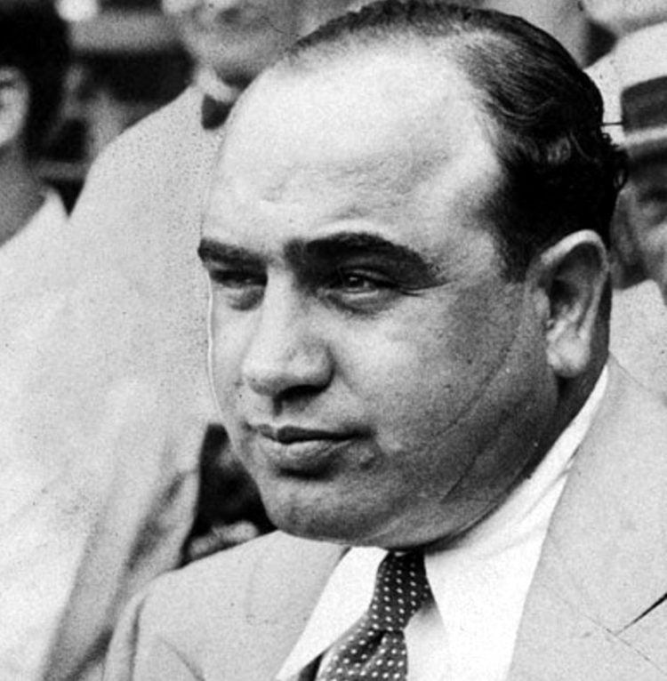 Al Capone - Scarface scar