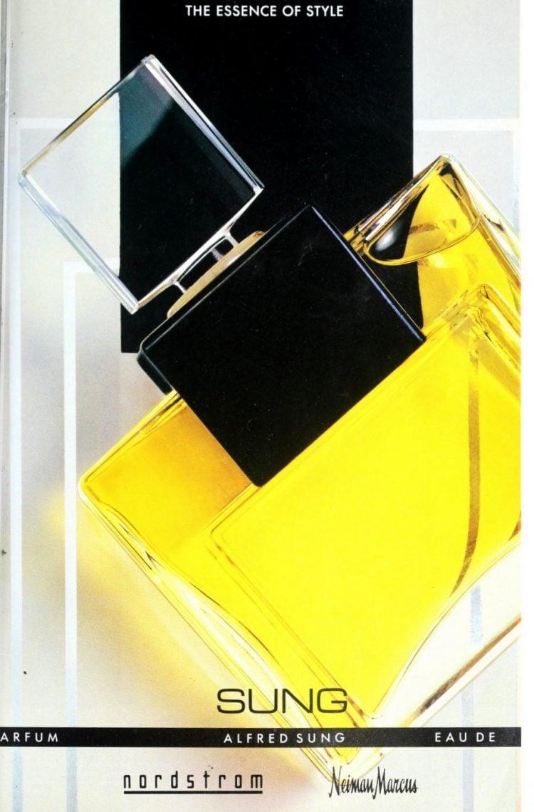 Alfred Sung parfum 1989