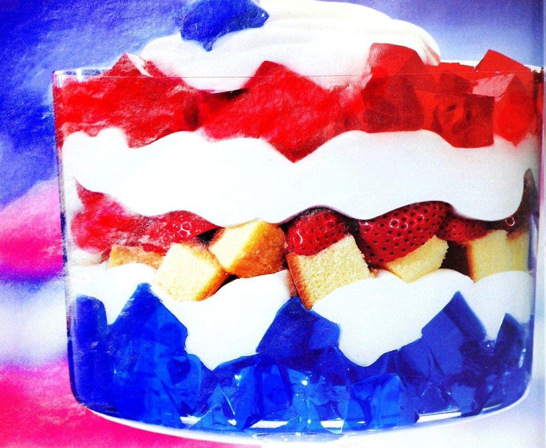 White Chrysler 300 >> 2 pretty patriotic Jell-O desserts: All-American trifle ...