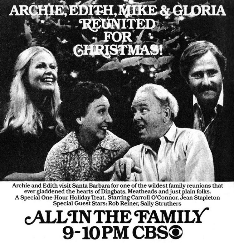 All in the Family Christmas special episode from 1978