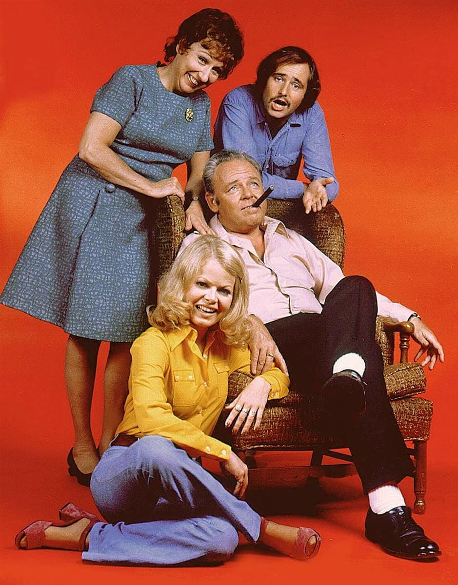 All in the Family TV show cast