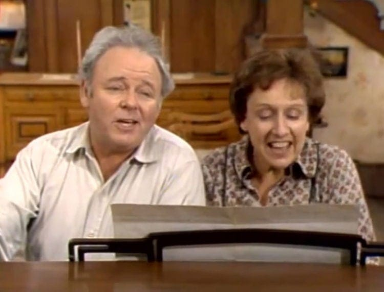 All in the Family theme song & lyrics