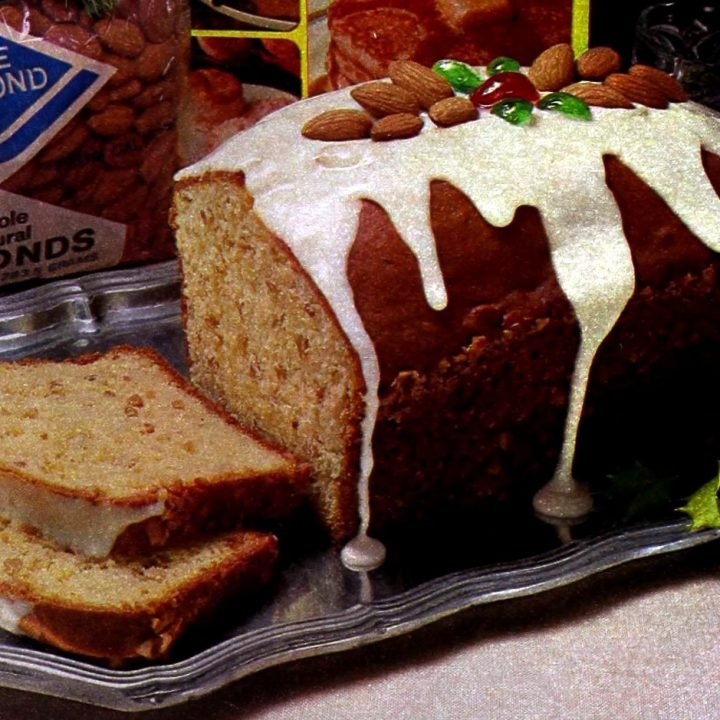 Almond pudding loaf recipe