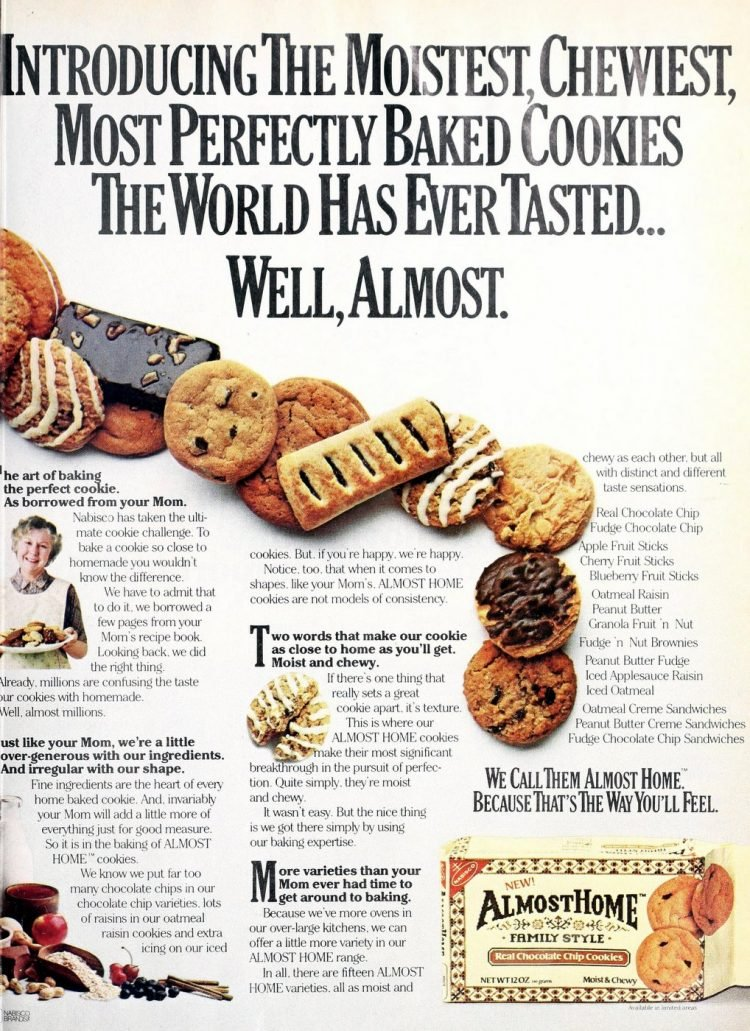 Almost Home cookies (1984)