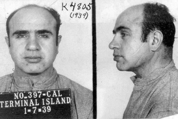 Alphonse Capone - Al Capone mugshots 1939