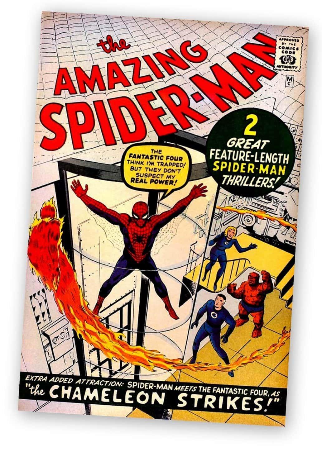 Amazing Spider-Man 1966 comic book super heroes