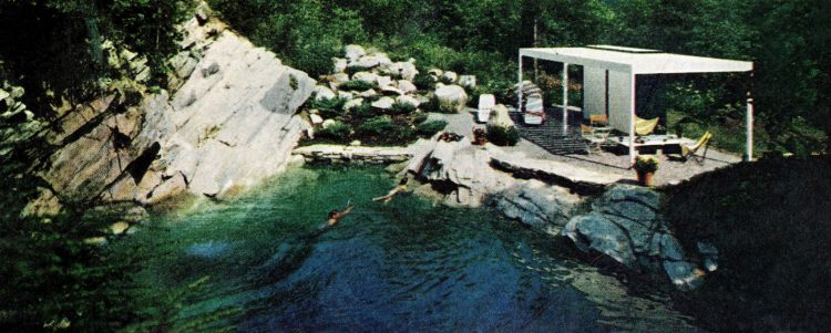 Amazing pool from an old quarry (1967)