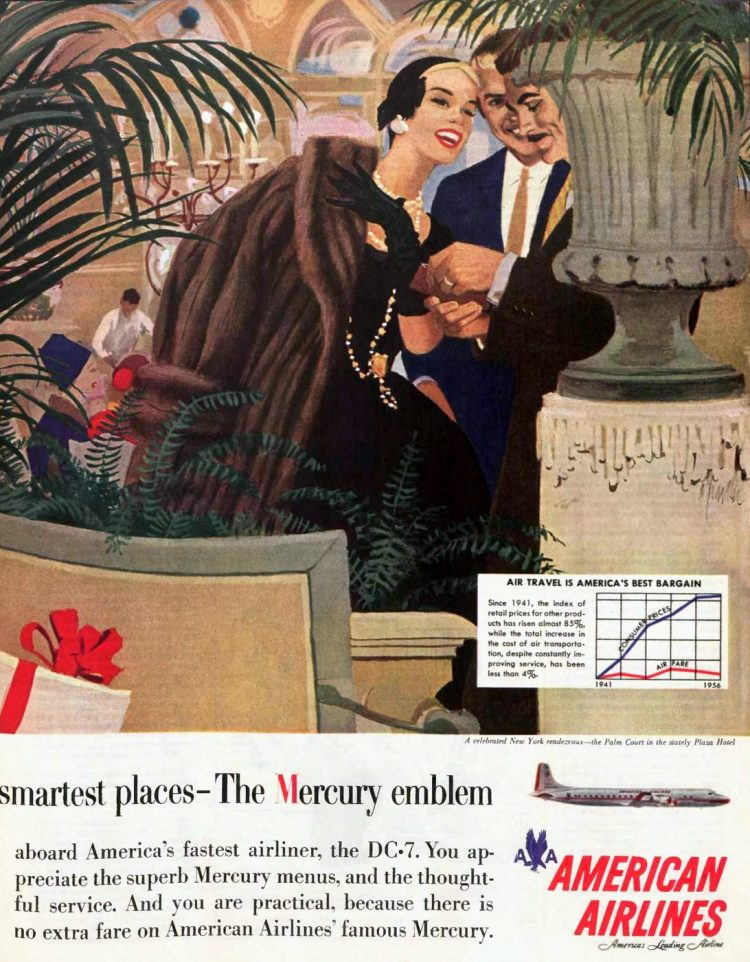 American Airlines 1957 - DC7
