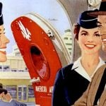 American Airlines 1958 - Stewardesses