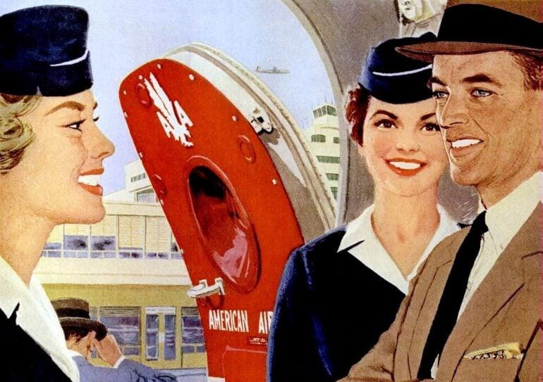 American Airlines 1958 - Stewardesses