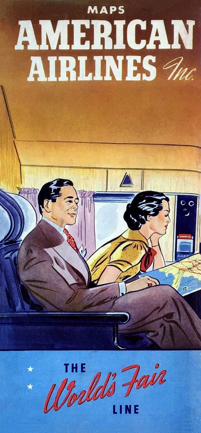 American Airlines - The World's Fair line - 1939
