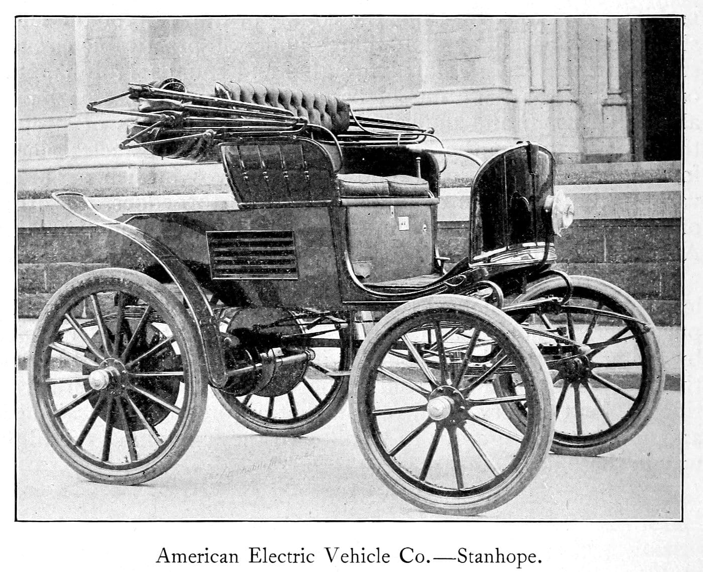 American Electric Vehicle Co - Stanhope automobile (1899)