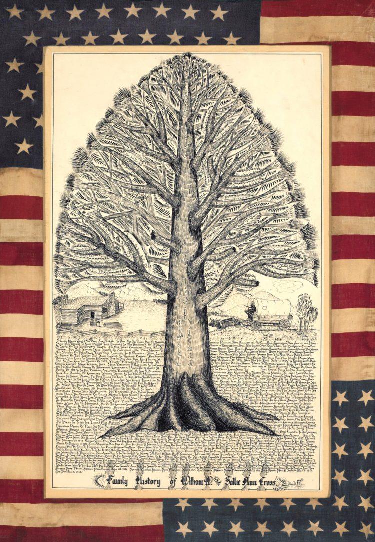 American genealogy - Family tree