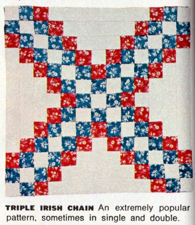 American heritage Pieced patchwork quilts from 1972 (10)