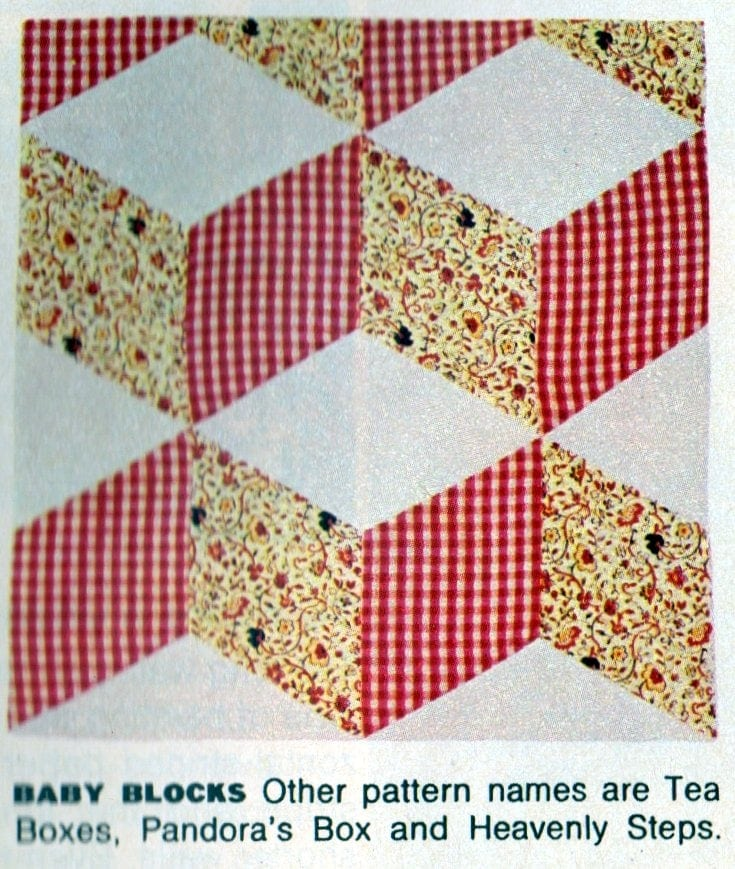 American heritage Pieced patchwork quilts from 1972 (5)